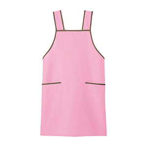 男女共用 エプロン CAE−116 9 ピンク フリー