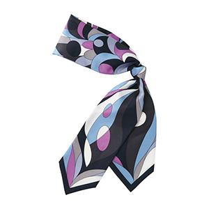 スカーフ EAZ−445 26 アクアブルー