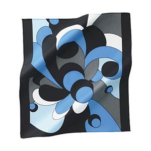 ミニスカーフ EAZ−486 6 ブルー