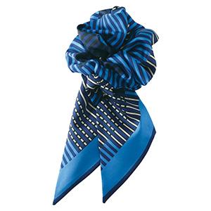 コサージュミニスカーフ EAZ−561 6 ブルー