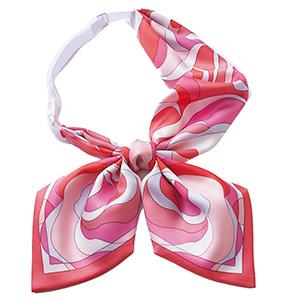 ENJOY ROUGE(R) リボンスカーフ EAZ−725 9 ピンク