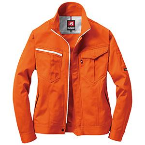 ジャケット 6071−84 オレンジ (SS〜3L)