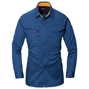 長袖シャツ 6033−42 ロイヤルブルー (S〜3L)