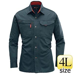 長袖シャツ 8015−13 デューク (4L)