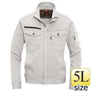 ジャケット ユニセックス 9071−5 シルバー (5L)