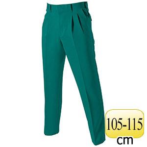ツータックパンツ 9003−10 グリーン (105〜115)