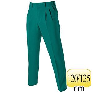 ツータックパンツ 9003−10 グリーン (120・125)