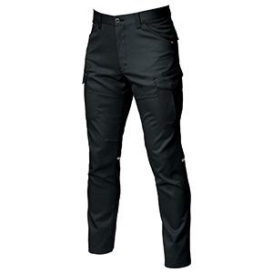 カーゴパンツ 9072R−35 ブラック (S〜3L)