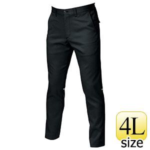 ユニセックスパンツ 9073R−35 ブラック (4L)