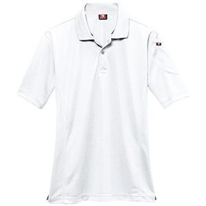 半袖ポロシャツ 305−029 ホワイト (SS〜3L)