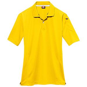 半袖ポロシャツ 305−008 イエロー (SS〜3L)