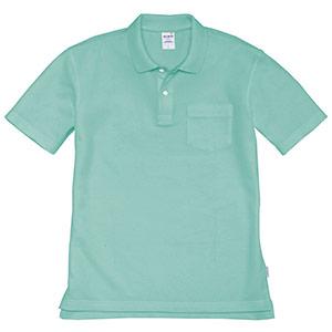 半袖ポロシャツ 205−016 ミントグリーン (SS〜3L)