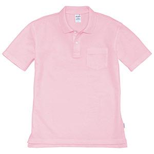 半袖ポロシャツ 205−083 ピンク (SS〜3L)