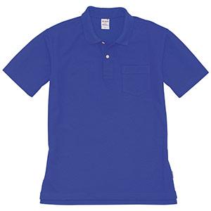 半袖ポロシャツ 205−042 ロイヤルブルー (SS〜3L)