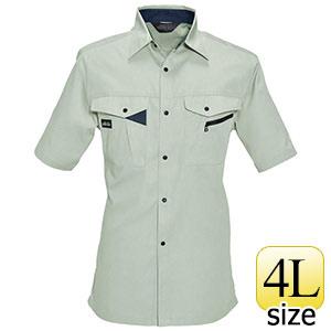 半袖シャツ 6025−2 シェル (4L)