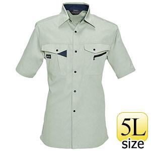 半袖シャツ 6025−2 シェル (5L)