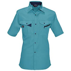 半袖シャツ 6025−4 ミストブルー (S〜3L)