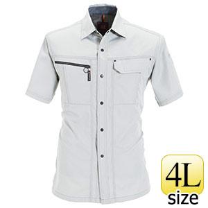 半袖シャツ 6065−2 シェル (4L)