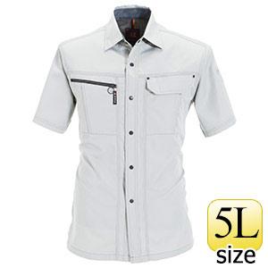 半袖シャツ 6065−2 シェル (5L)