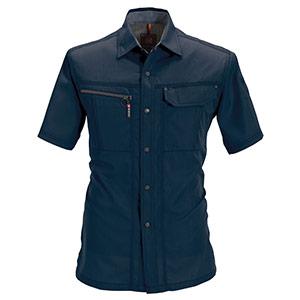 半袖シャツ 6065−3 ネイビー (S〜3L)