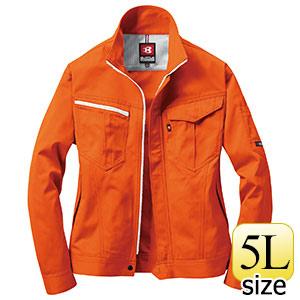 ジャケット 6081−84 オレンジ (5L)