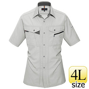 半袖シャツ 7065−2 シェル (4L)