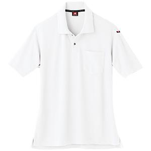 半袖ポロシャツ 507−29 ホワイト (SS〜3L)