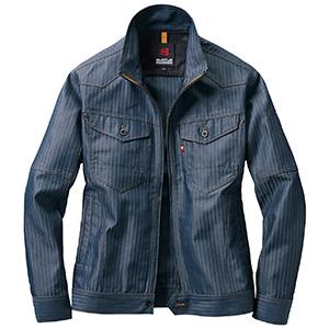 ジャケット 1511−45 インディゴ ヘリンボーン