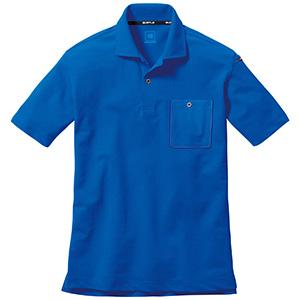 半袖ポロシャツ 667−047 サーフブルー (SS〜3L)