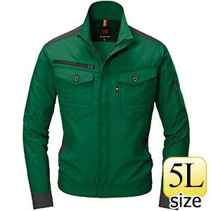 ジャケット 9081−10 グリーン (5L)