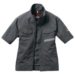 半袖ジャケット ユニセックス 9096−34 バイパー (SS〜3L)