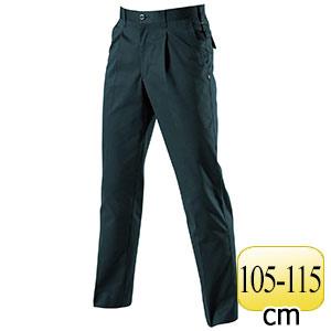ワンタックパンツ 6037−37 チャコールブラック (105〜115)