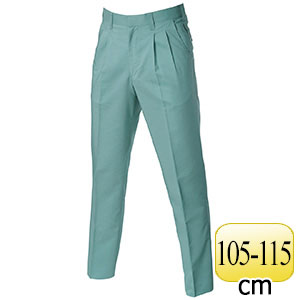 ツータックパンツ 9027−1 アースグリーン (105〜115)