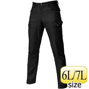 カーゴパンツ 9082−35 ブラック (6L・7L)