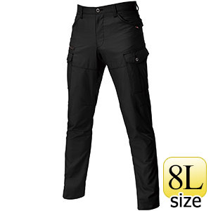 カーゴパンツ 9082−35 ブラック (8L)