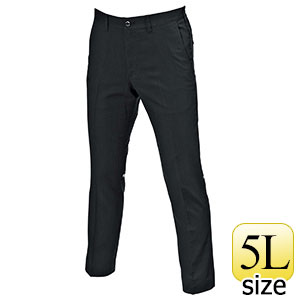 ユニセックスパンツ 9093−35 ブラック (5L)