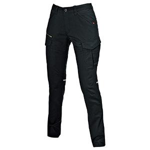 レディースカーゴパンツ 9099−35 ブラック (S〜LL)