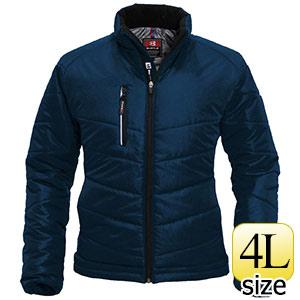 防寒ジャケット 7310−3 ネイビー (4L)