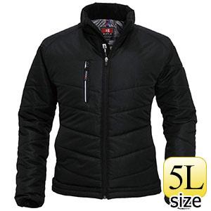 防寒ジャケット 7310−35 ブラック (5L)