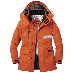 防寒コート 大型フード付 7211−82 マーベリック (SS〜3L)