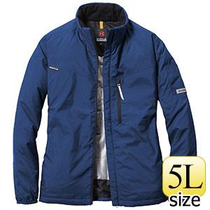 軽防寒ジャケット ユニセックス 3180−3 ネイビー (5L)