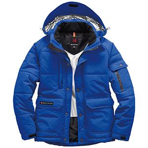 防寒ジャケット(大型フード付) ユニセックス 7510−47 サーフブルー (SS〜3L)