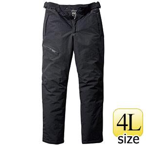 防水防寒パンツ 7612−35 ブラック (4L)