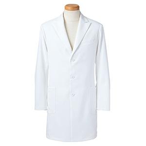 長袖ドクタージャケット メンズ R2491−21 ホワイト (S〜4L)