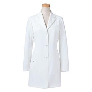 長袖ドクタージャケット R2440−21 レディス ホワイト (S〜4L)