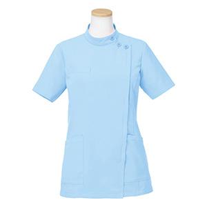 半袖ケーシージャケット R8746−11 レディース ブルー (S〜4L)