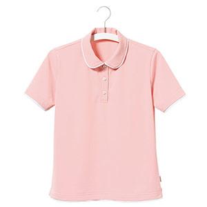 半袖ポロシャツ UF8935−13 レディース ピンク (5〜17号)