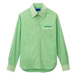 ユニセックス 長袖シャツ 63415 グリーン