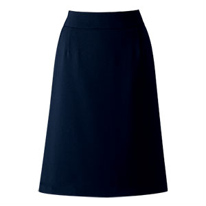 Aラインスカート 16251 ネイビー (5〜19号)