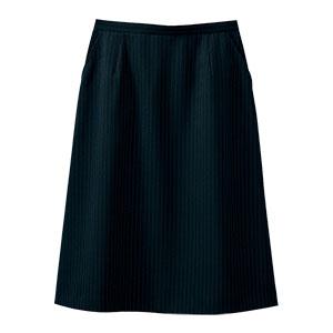 Aラインスカート 16401 ブラックネイビー (5〜19号)